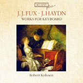 Works for Keyboard by J.J. Fux and F. J. Haydn / robert Kohnen, harpsichord