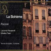 Puccini: La Boh&egrave;me / Schippers, Pavarotti, Freni, et al