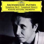Rachmaninov: Symphony no 3, etc / Pletnev, Russian NO