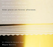Wayne Horvitz (Composer/Keyboard): Some Places Are Forever Afternoon (11 Places for Richard Hugo) [Digipak]