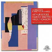 Berger, Shapero, Thomson: Works for Piano Four Hands