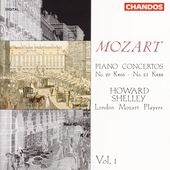 Mozart: Piano Concertos Vol 1 - no 20 & 23 / Howard Shelley