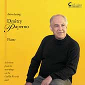 Artist - Dmitry Paperno - Bach/Busoni, Haydn, Schubert, etc