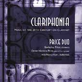 Clariphonia - Music of the 20th Century / Price Duo, Roth