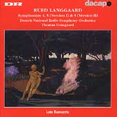Langgaard: Symphonies no 4, 5 (I) & 5 (II) / Dausgaard, DRSO
