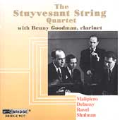 Debussy, et al: String Quartets, etc / Goodman, Stuyvesant