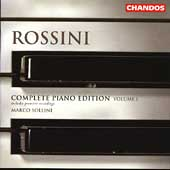 Rossini: Complete Piano Edition Vol 1 / Marco Sollini