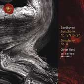 Classic Library - Beethoven: Symphonies no 3 and 8 / Wand