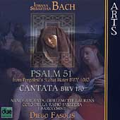 Bach: Psalm 51, etc / Fasolis, Argenta, Laurens, et al