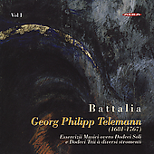 Battalia Plays Telemann Vol 1