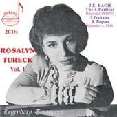 Legendary Treasures - Rosalyn Tureck Vol 1 - Bach