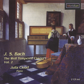 Bach: The Well Tempered Clavier Vol 2 / Cload