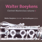 Clarinet Masterclass Vol 1 / Boeykens, Gruithuyzen