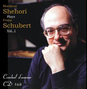 Franz Schubert: Four Impromptus; Sonata in B Flat Major / Mordecai Shehori, piano