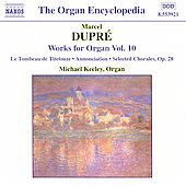 Dupre: Organ Works Vol. 10