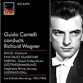 Guido Cantelli conducts Richard Wagner / NBC SO, NYPO, et al