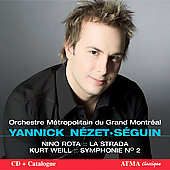 Yannick Nézet-Séguin conducts Rota and Weill