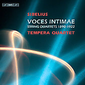 Voces intimae - Sibelius: String Quartets / Tempera Quartet