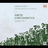Shostakovich: Symphony no 8 / Herbig, Saarbrucken RSO