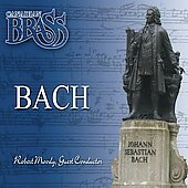 Bach [arranged for Brass] / Robert Moody, Canadian Brass