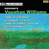 Vaughan Williams: Fantasia on Greensleeves, The lark ascending, Symphony no 2 & 5, etc