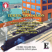 The Tertis Tradition - Music for Viola & Piano / Roger Chase, Michiko Otaki