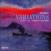Brahms: The Complete Variations / Ohlsson