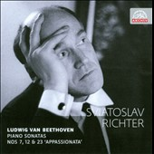 Beethoven: Piano Sonatas Nos. 7, 12, 23 'Appassionata' / Richter