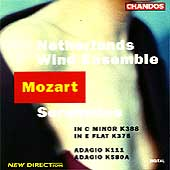 Mozart: Serenades K388 & K375 / Netherlands Wind Ensemble