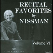 Recital Favorites by Nissman, Vol. 6: Chopin, Ravel, Buxtehude, Prokofiev / Barbara Nissman, piano