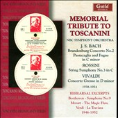 Memorial Tribute to Toscanini: Bach, Rossini & Vivaldi; Rehearsal excerpts 1946-1952