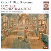 Telemann: Complete Orchestral Suites, Vol. 4 / Pavel Serbin