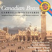 Gabrieli, Monteverdi - Antiphonal Music / Canadian Brass