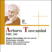 Arturo Toscanini: The Wagner Recordings, 1941-46