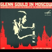 Glenn Gould in Moscow - Berg, Webern, Krenek, J.S. Bach / Glenn Gould, live, May 1957