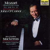 Classics - Mozart: Piano Concertos no 21 & 27 / O'Conor, etc