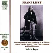 Liszt: Complete Piano Music Vol 11 / Valerie Tryon
