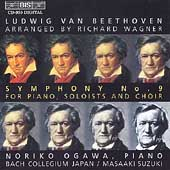 Beethoven/Wagner: Symphony no 9 / Suzuki, Ogawa, et al