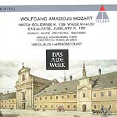 Mozart: Missa solemnis, Exsultate jubilate / Harnoncourt