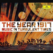 The Year 1917: Music in Turbulent Times - highlights from Respighi: Fountains of Rome; Bartók: Wooden Prince; Falla: Three Cornered Hat; Holst: The Planets; Bridge: Cello Sonata; Vaughan Williams: Symphony No. 3; Prokofiev: Violin Concerto et al.