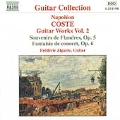 Guitar Collection - Coste: Guitar Works Vol 2 / Zigante