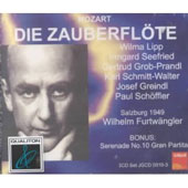 Mozart: Die Zauberfl&ouml;te / Furtw&auml;ngler, Vienna PO, et al