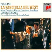 Puccini: La Fanciulla del West / Maazel, Zampieri, Domingo