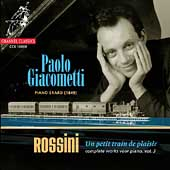 Rossini: Complete Works for Piano Vol 3 / Paolo Giacometti