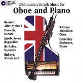 20th Century British Music for Oboe / McMullen, Herbener