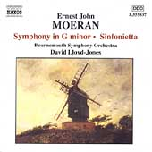 Moeran: Symphony in G minor, Sinfonietta / David Lloyd-Jones