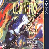 Clarinet XX Vol 2 - Berg, Messiaen, et al / Startchenko, etc