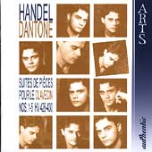 Handel: Suites for Harpsichord Vol 1 / Dantone