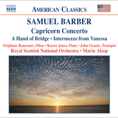 American Classics - Barber: Capricorn Concerto / Alsop