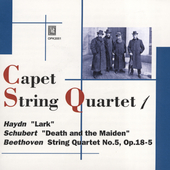 Haydn, Beethoven, Schubert / Capet String Quartet